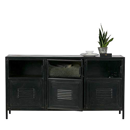 Pharao24 Factory Sideboard in Schwarz