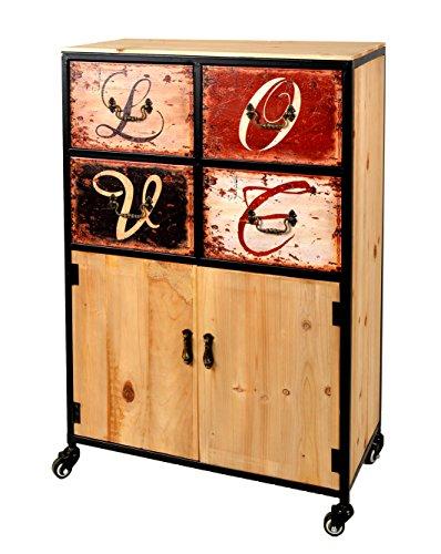 schrank mit rollen interesting kleiner schrank auf rollen with schrank mit rollen gallery of. Black Bedroom Furniture Sets. Home Design Ideas