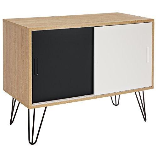 LOMOS® No.16 Aus Holz Mit Zwei Schiebetüren Im Modernen Retro Design