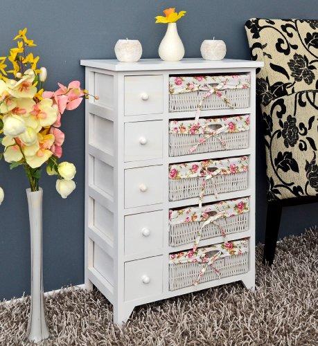 helle kommode landhaus. Black Bedroom Furniture Sets. Home Design Ideas
