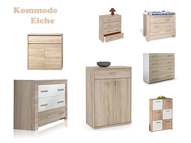 kommode eiche z b rustikal. Black Bedroom Furniture Sets. Home Design Ideas