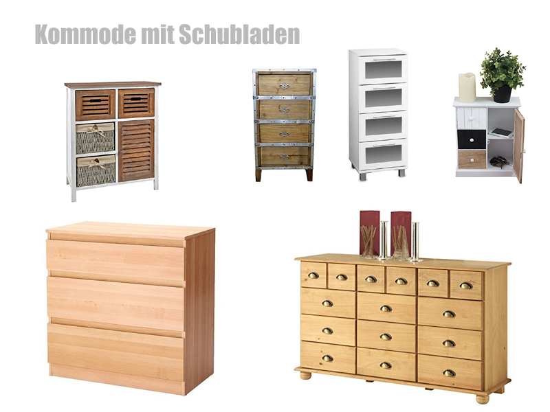 mit schubladen excellent melltime kommode mit schubladen. Black Bedroom Furniture Sets. Home Design Ideas
