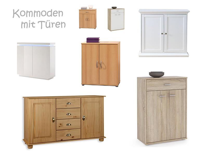 kommode mit t ren. Black Bedroom Furniture Sets. Home Design Ideas