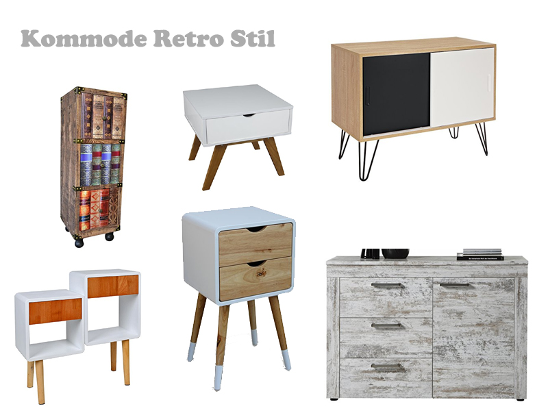 kommode im retro stil. Black Bedroom Furniture Sets. Home Design Ideas