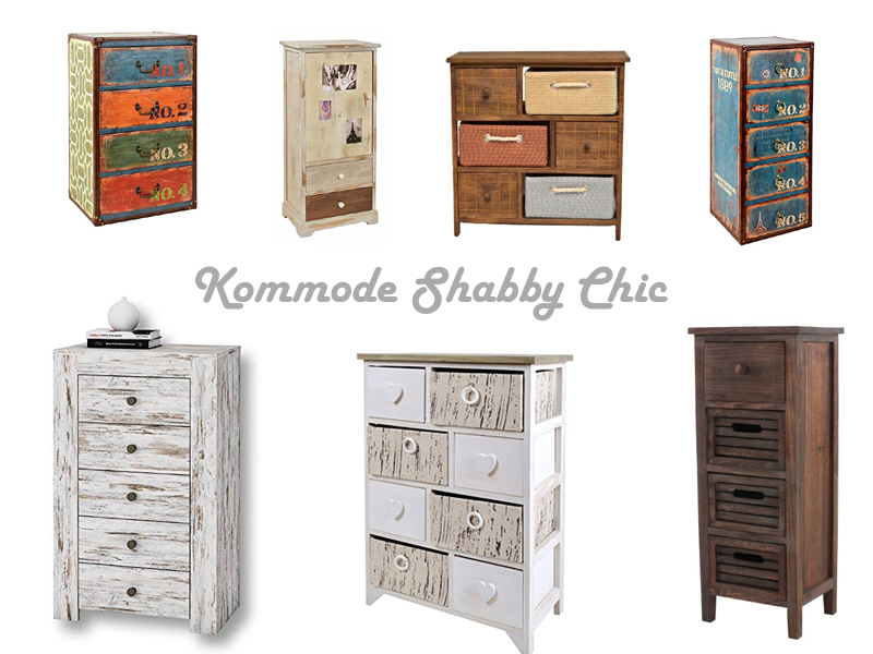 kommode shabby chic stil. Black Bedroom Furniture Sets. Home Design Ideas