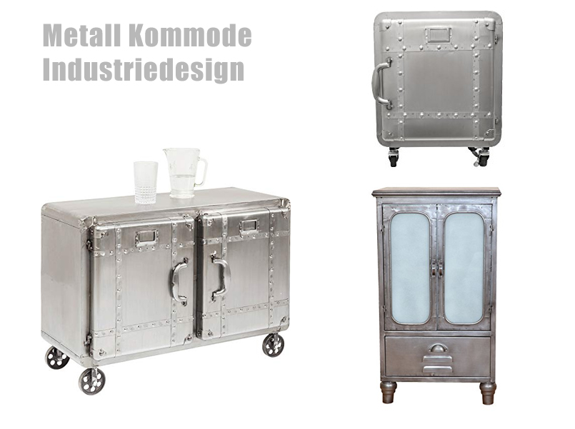 Metall Kommode im Industriedesign