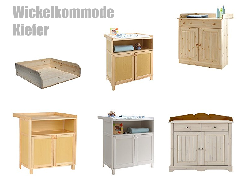 Wickelkommode Kiefer